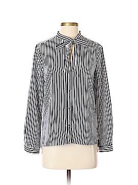 Zara Basic Long Sleeve Blouse Size S
