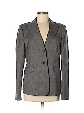 Pink Tartan Wool Blazer Size 8