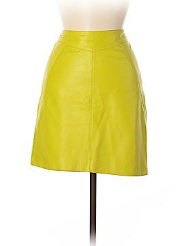 Jason Wu Leather Skirt Size 6