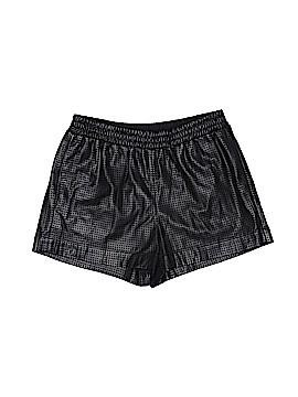 BCBGMAXAZRIA Faux Leather Shorts Size S