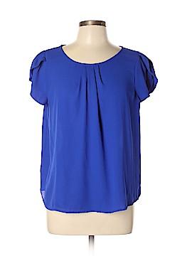 Papermoon Short Sleeve Blouse Size XL (Petite)
