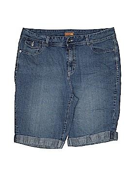 St. John's Bay Denim Shorts Size 18W (Plus)