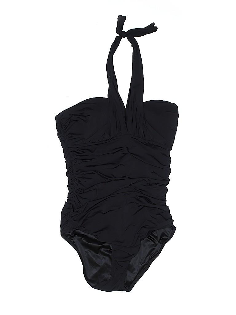 6e66d508f1a Victoria's Secret Solid Black One Piece Swimsuit Size L - 60% off ...