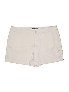 French Cuff Cargo Shorts Size 16