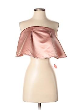 Chi Chi London Sleeveless Blouse Size 14 (UK)
