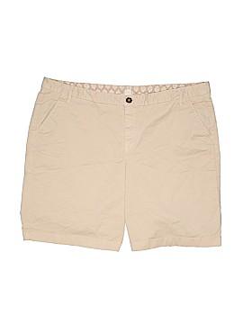 Caslon Khaki Shorts Size 16
