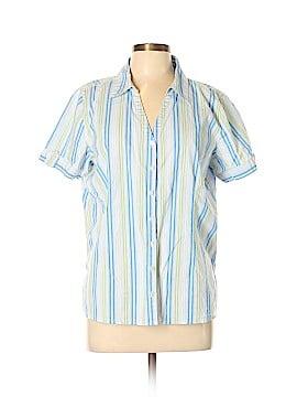 Studio Works Short Sleeve Button-Down Shirt Size XL