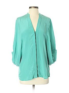 Blaque Label 3/4 Sleeve Silk Top Size S