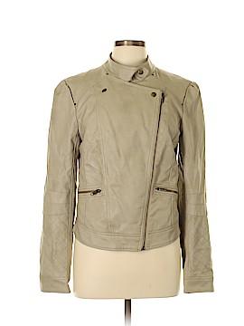 Jessica Simpson Faux Leather Jacket Size L