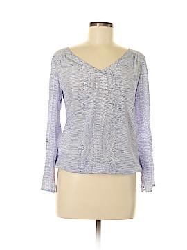Ellie Kai Long Sleeve Silk Top Size 2