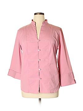 DressBarn Long Sleeve Button-Down Shirt Size 14 - 16W