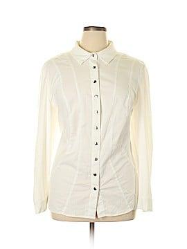 Monroe and Main Long Sleeve Button-Down Shirt Size 2X (Plus)