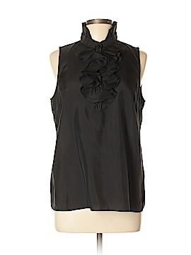 Elena Solano Sleeveless Silk Top Size L