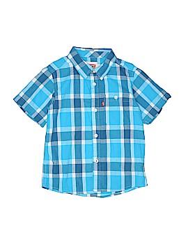 Levi's Short Sleeve Button-Down Shirt Size 7
