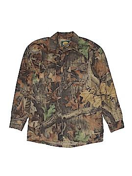 Cabela's Long Sleeve Button-Down Shirt Size 14