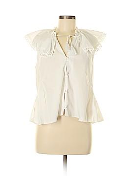 Sea New York Short Sleeve Button-Down Shirt Size 4