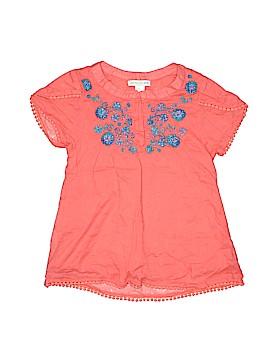 Garnet Hill Short Sleeve Blouse Size 8