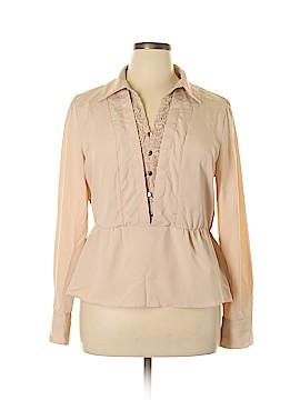 Elle Long Sleeve Blouse Size XL
