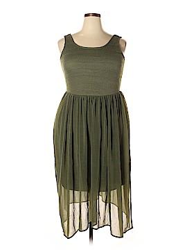 KRISTIN NICOLE Casual Dress Size 1X (Plus)