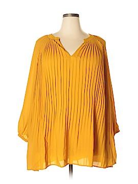 ELOQUII 3/4 Sleeve Blouse Size 22 - 24 Plus (Plus)