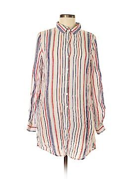 Artisan Long Sleeve Button-Down Shirt Size M