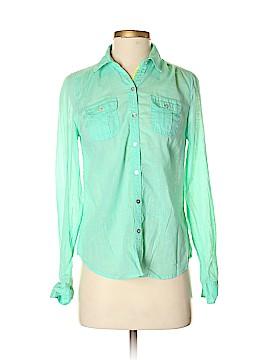 Express Long Sleeve Button-Down Shirt Size XS