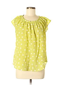 LC Lauren Conrad Short Sleeve Blouse Size M