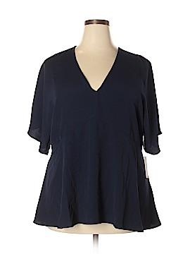 ELOQUII 3/4 Sleeve Blouse Size 18 - 20 Plus (Plus)