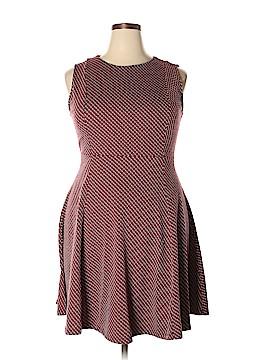 Renee C. Casual Dress Size 1X (Plus)