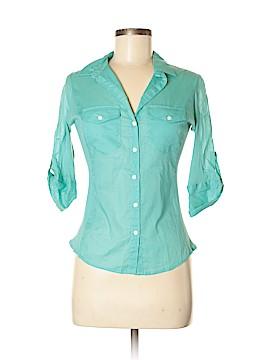 Chelsea & Violet Short Sleeve Button-Down Shirt Size S