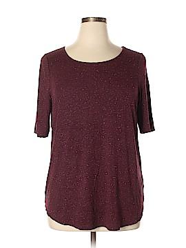 Apt. 9 Short Sleeve T-Shirt Size 0X (Plus)