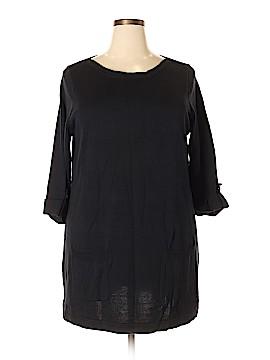 Denim + Company Casual Dress Size 1X (Plus)