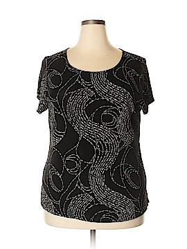 Choice Short Sleeve Top Size 1X (Plus)