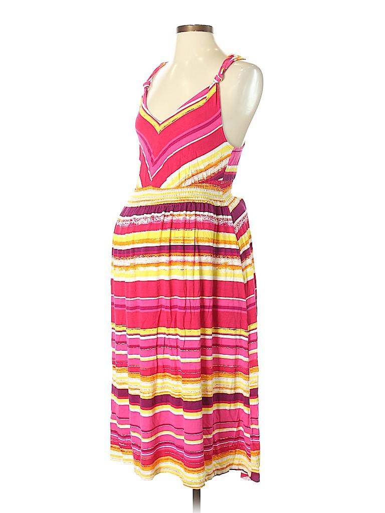 2d06dcd2964 Liz Lange Maternity Stripes Red Casual Dress Size XS (Maternity ...
