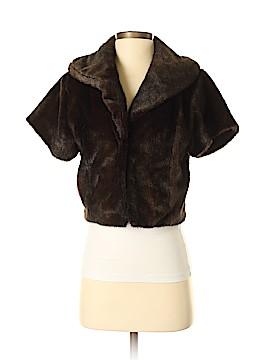 Etcetera Faux Fur Jacket Size 4