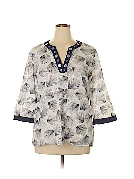 Kasper 3/4 Sleeve Blouse Size 16