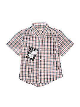 Wrangler Jeans Co Short Sleeve Button-Down Shirt Size 2