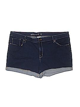 Ava & Viv Denim Shorts Size 24 (Plus)