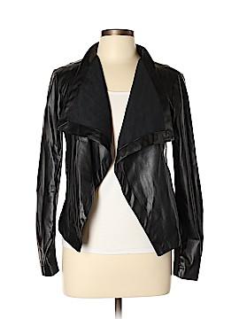 BB Dakota Faux Leather Jacket Size M