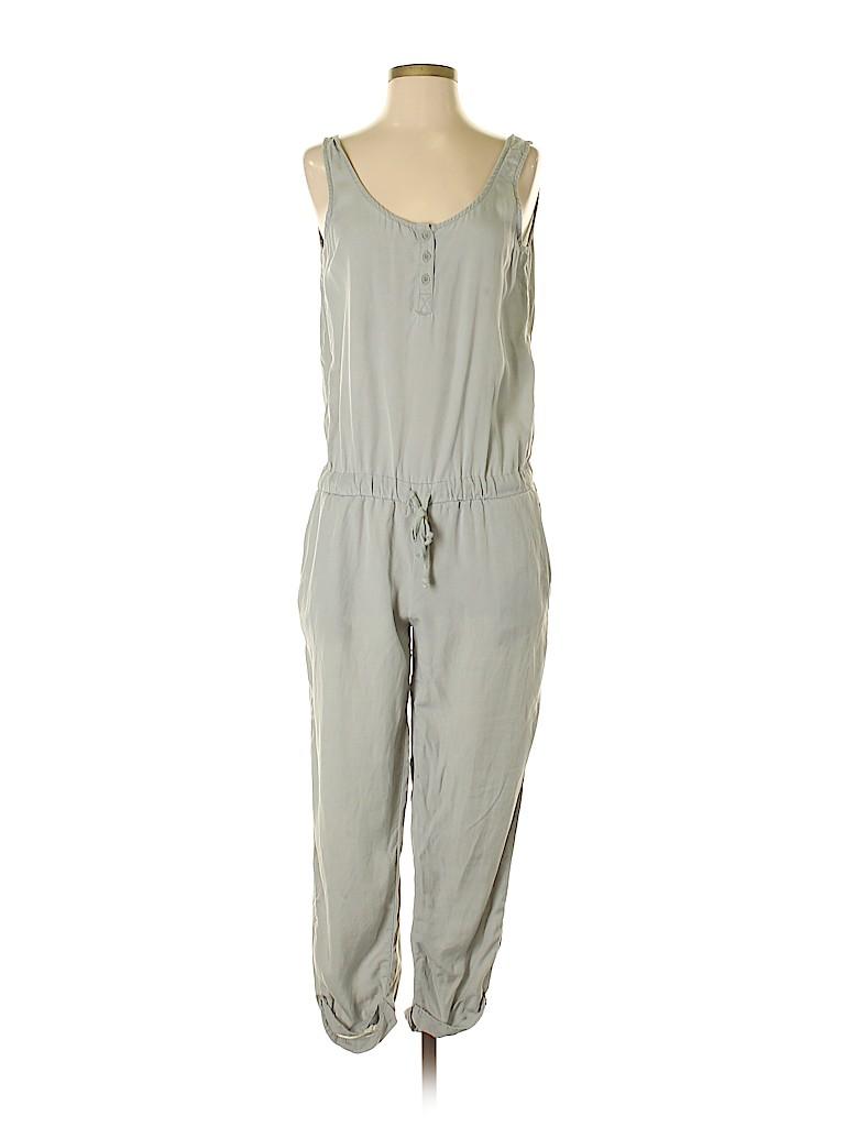 626d13a9f5b Cloth   Stone 100% Tencel Solid Light Green Jumpsuit Size M - 60 ...