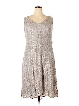 S.L. Fashions Cocktail Dress Size 18W (Plus)