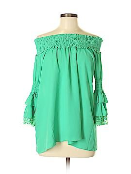 Joyce 3/4 Sleeve Blouse Size S