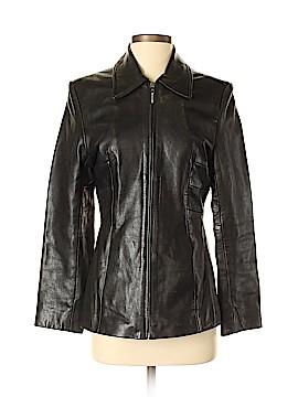 Kasper Leather Jacket Size S