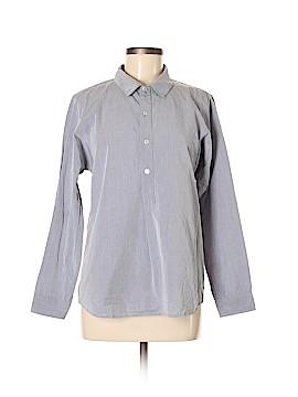 A.P.C. Long Sleeve Button-Down Shirt Size M