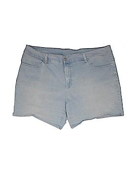 Faded Glory Denim Shorts Size 24 (Plus)