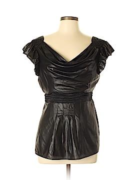 Bebe Short Sleeve Blouse Size L