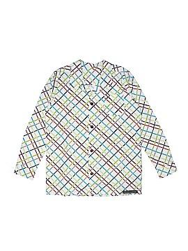 Paulina Quintana Long Sleeve Button-Down Shirt Size 8
