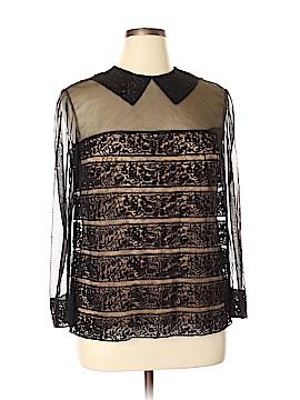 Tadashi Shoji Long Sleeve Blouse Size 14