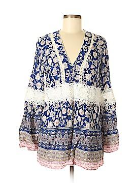 Suzanne Betro Long Sleeve Blouse Size M