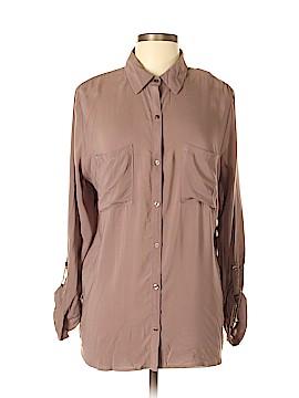 Ann Taylor LOFT Outlet Long Sleeve Blouse Size L